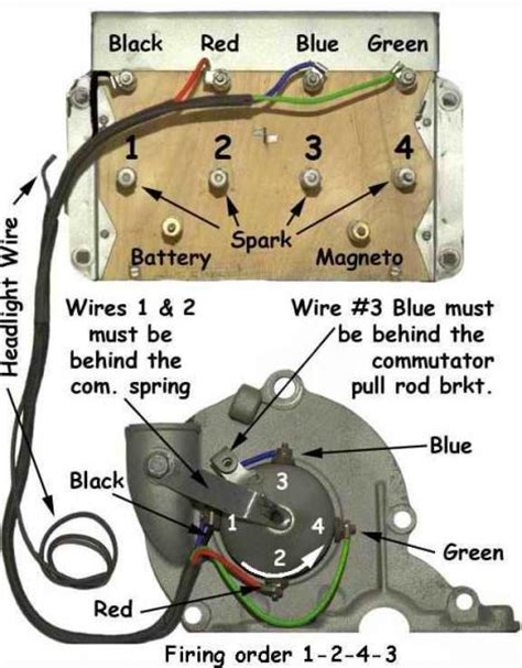 model t ford forum anyone detailed colored wiring