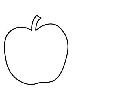Apple Plain Apple Black And White Clip Cliparts Co