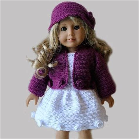 clothes pattern for american girl doll instant download pdf crochet pattern 18 quot ag doll