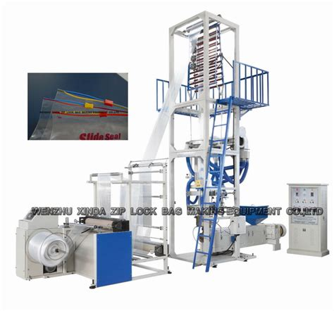 l post with blowing zip lock bag blowing machine from china manufacturer