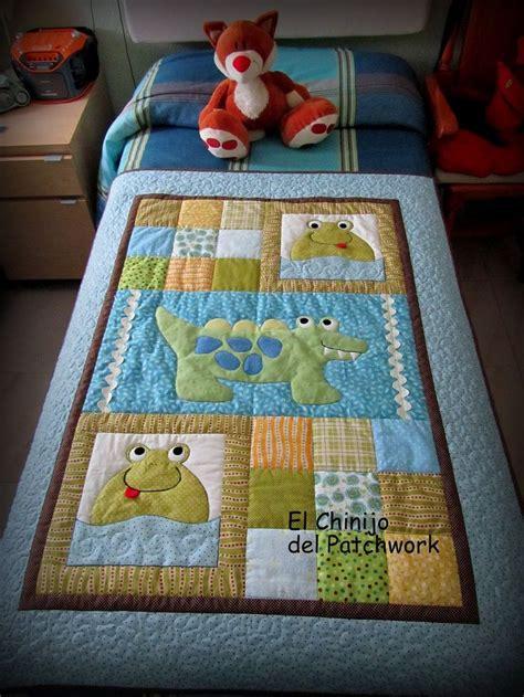 patchwork edredones las 25 mejores ideas sobre mantas para beb 233 s en