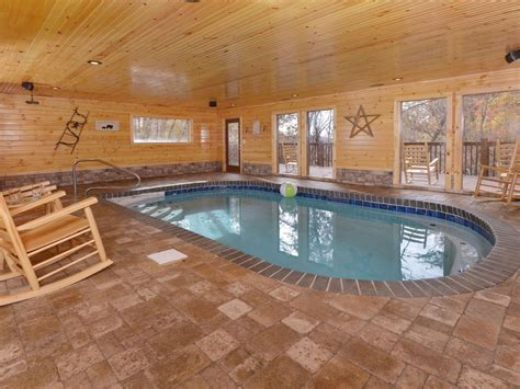 Cabins With Indoor Pools Gatlinburg Tn by Indoor Swimming Pool Brand New Vrbo