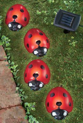 Ladybug Solar Lights Ladybug Solar Garden Lights Set Of 4 From Collections Etc