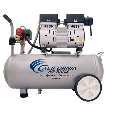 california air tools 5 5 gal 1 0 hp ultra and free air compressor 5510se the home depot