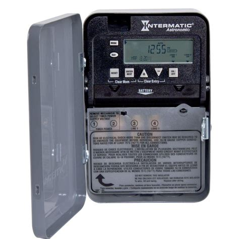 intermatic 30 amp 7 day spst 1 circuit astronomic time