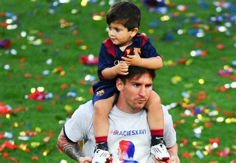 lionel messi with son weneedfun