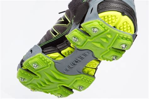snow cleats for running shoes winter running traction stabilicers run kahtoola
