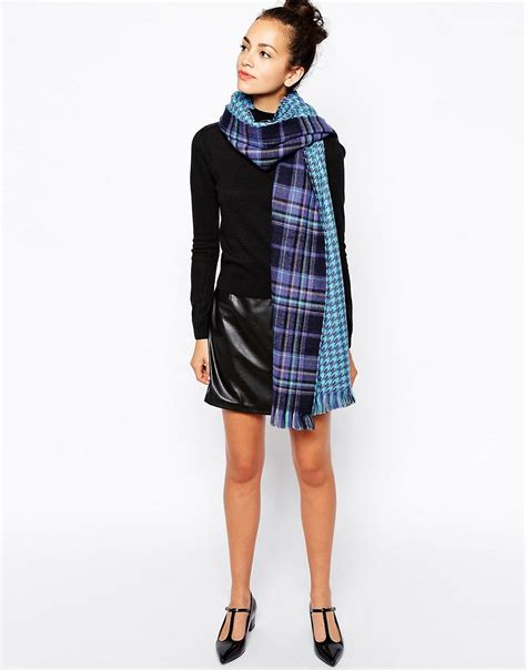 new look new look oversized blanket scarf at asos