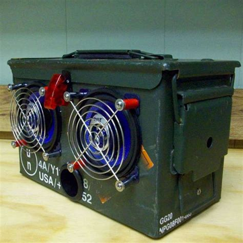 Pc Power Supply To Bench Power Supply How To Make Your Own Military Style Ammo Box Boombox
