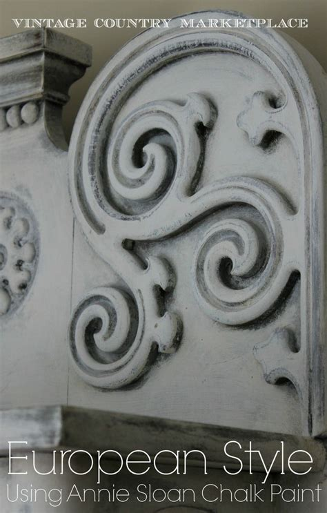 creating european style pieces using sloan chalk paint white linen before