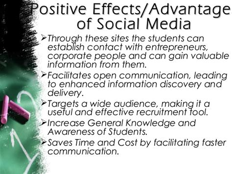 social networking effects advantages of social media on youth sa social