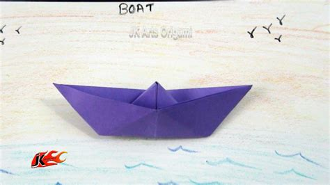 learn how to make a paper boat free coloring pages learn origami how to make a paper