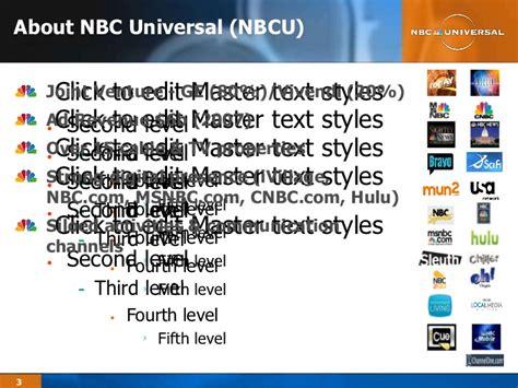 Nbc Universal Mba Program by Nbc Universal And Lean