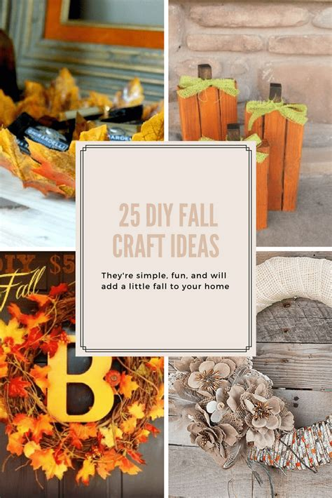 diy fall craft ideas 25 diy fall craft ideas domestically speaking