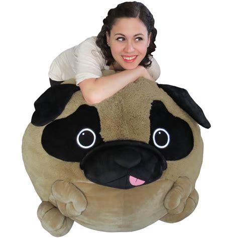 pug beans pug bean bag squishable pug puppy plush beanbag new squishable