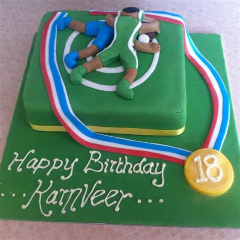 Wrestling Cake Cakes Andokies Int To Make In