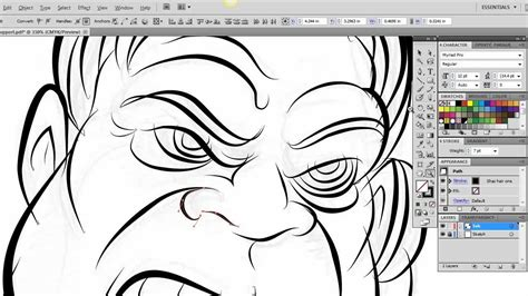 tutorial illustrator pdf ultimate inking and coloring tutorial for adobe