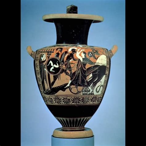 Greek Red Figure Vase Scenes From Homer S The Iliad In Ancient Art Oupblog