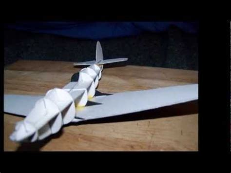 How To Make A Model Airplane Out Of Paper - how to make a cool bell p 39 airacobra paper model
