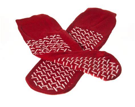 hospital slipper socks 3 pack hospital non skid no slip slipper socks