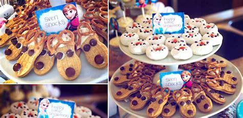 frozen themed birthday food kara s party ideas frozen themed birthday party via kara s