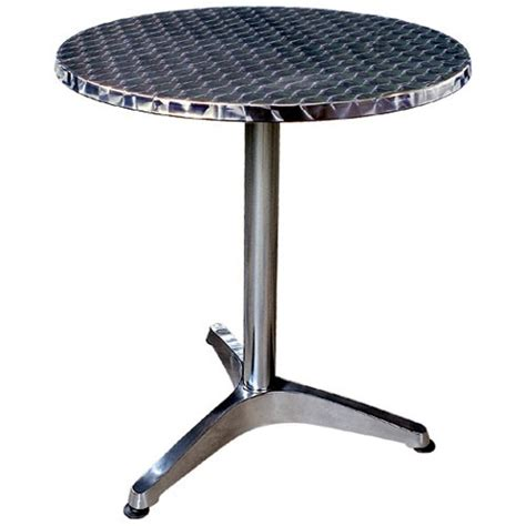 Table Bistrot Aluminium by Tables Bistrot Aluminium Rondes Ou Carr 233 Es