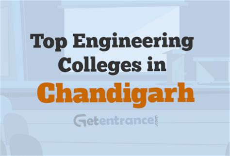 Best Mba College In Chandigarh by Top Engineering Colleges In Chandigarh 2018 Admission