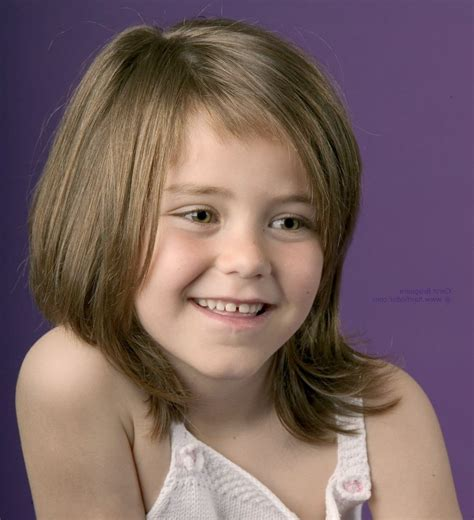 girl hairstyles bangs image for little girl medium length haircuts with bangs