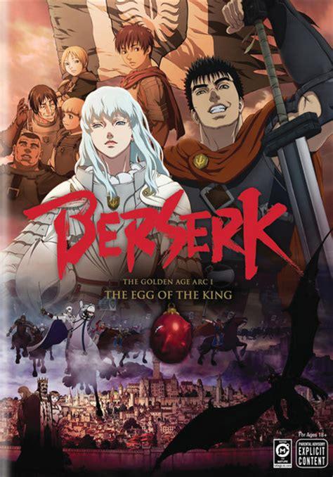 film anime berseri terbaik berserk the golden age arc movie 1 the egg of the king dvd