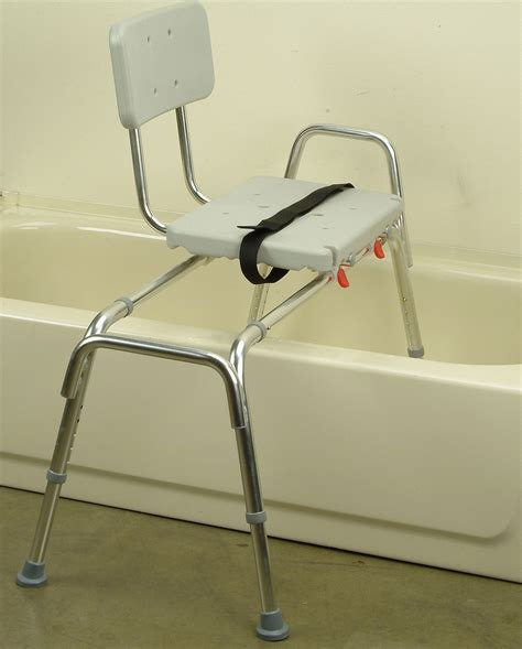 shower bath chair snap n save sliding transfer bench 67211 w seat lock bath