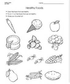 food worksheet for kids crafts and worksheets for