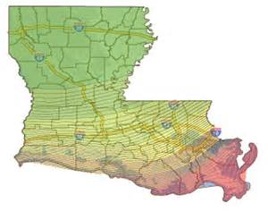 louisiana flood elevation map
