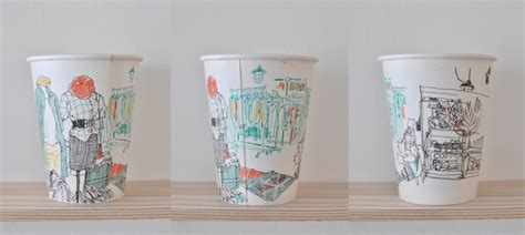 Craft Work With Paper Cups - one punch paper coffee cup animation is pretty
