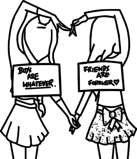 coloring pages with friends six best friends coloring page wecoloringpage