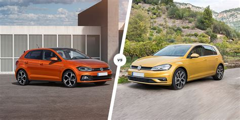 Volkswagen Polo Vs Golf by Vw Polo Vs Golf Which Hatchback Is Best Carwow