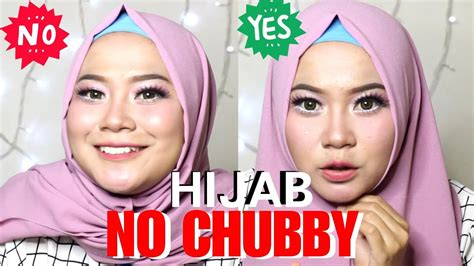 tips  tutorial hijab berdasarkan bentuk wajah