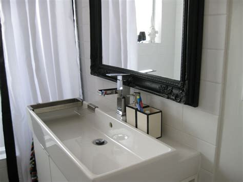 Black Bathroom Mirror Cabinet Before Amp After The Main Bathroom
