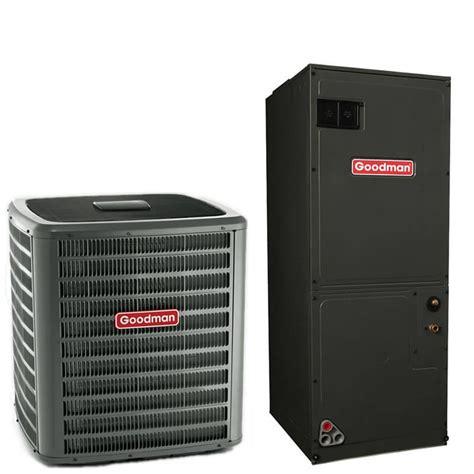 ton goodman  seer ra air conditioner split system