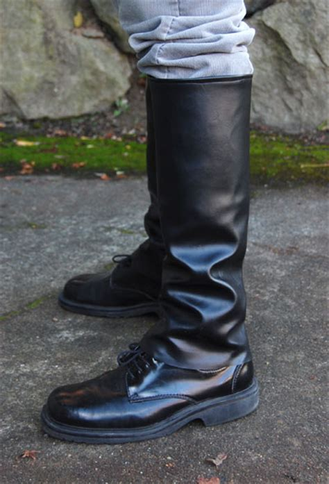 costume boot covers finkbuilt 187 archive 187 make boots for your costume