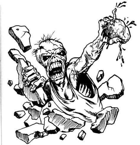 cartoon zombie tattoo flash tattoo flash zombie and horror ideatattoo