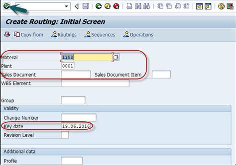 sap routing tutorial sap pp routing