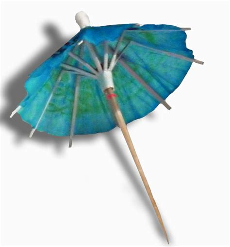 How To Make Paper Umbrella For Drinks - file cocktail umbrella side jpg wikimedia commons
