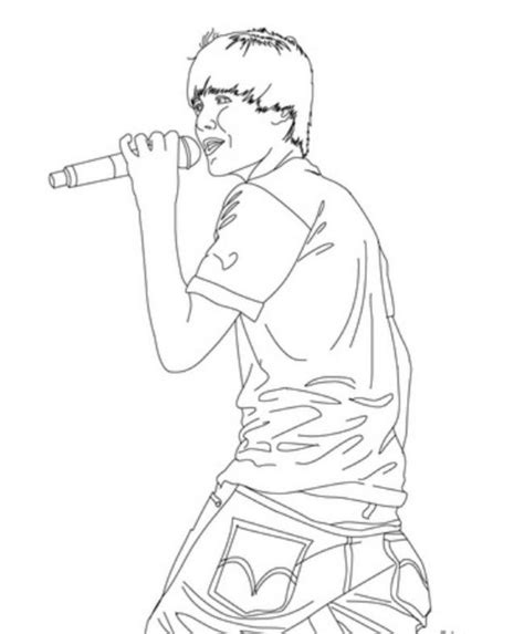 printable coloring pages justin bieber free coloring pages of justin bieber az coloring pages