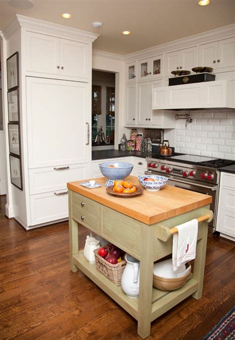 Islands For Small Kitchens 10 Small Kitchen Island Design Ideas Practical Furniture For Small Spaces