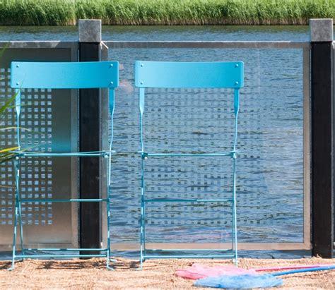 garten im quadrat sichtschutz aus glas cubic zum bau