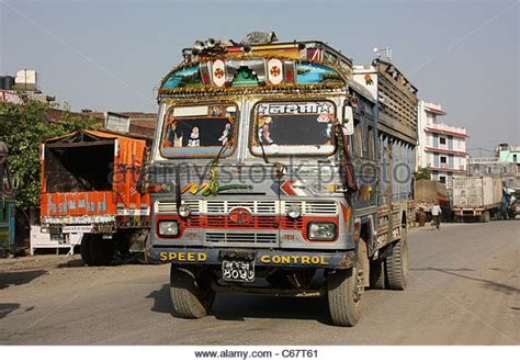 Lorry Outter Motif india goods truck stock photos india goods truck stock