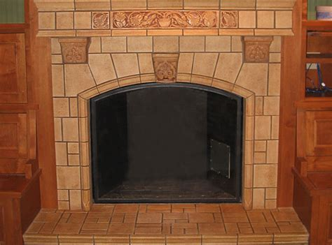 Arts And Crafts Tiles For Fireplaces by Tile Fireplace Installation And Design Wilson Tile Seattle Wilson Tile