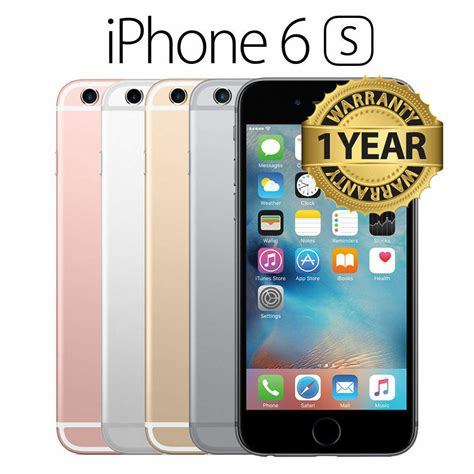 apple iphone  gb gb brand  sealed unlocked smart phone gold silver gray ebay