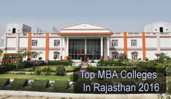 Upsee Mba Colleges List by Top Mba Colleges In Rajasthan 2017 List Rating