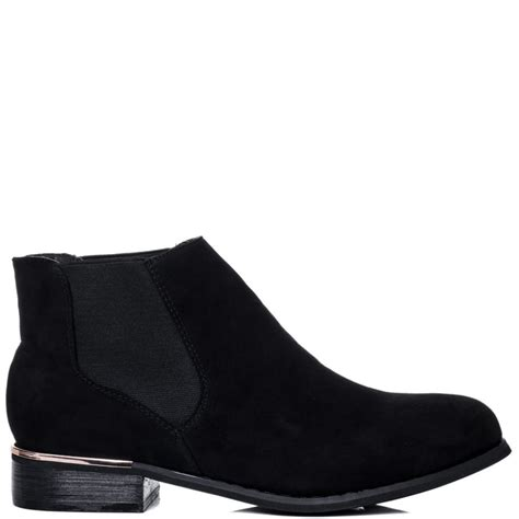black suede flat ankle boots coltford boots